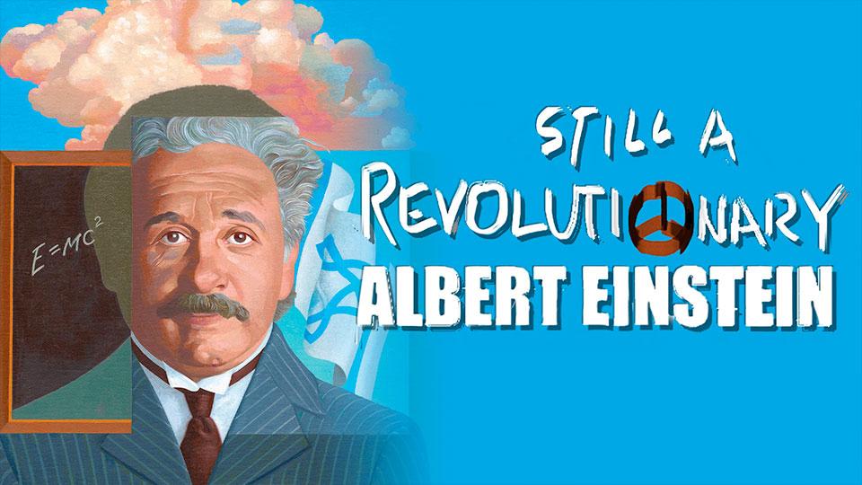 Albert Einstein: Revolutionary Poster