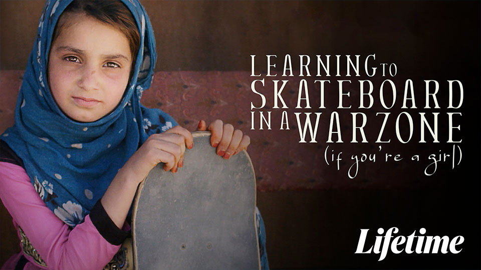 Learning How to Skateboard in a Warzone Poster