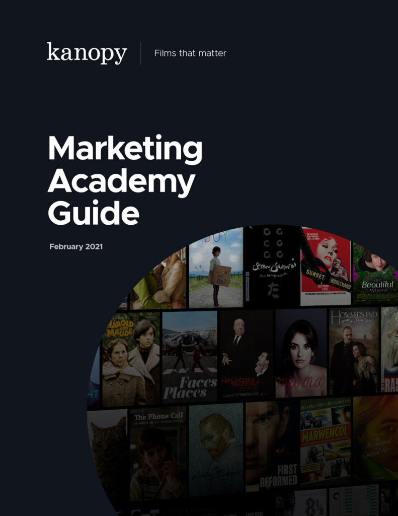 Kanopy Marketing Academy Guide Cover